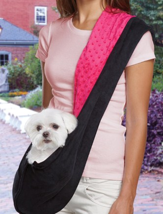 Puppy sling pattern free patterns - Dog carrier sling pattern ...